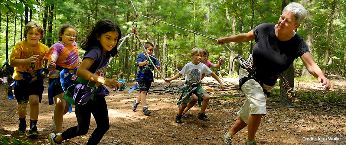 Pine Lake Ropes Course Bristol All Heart Bristol
