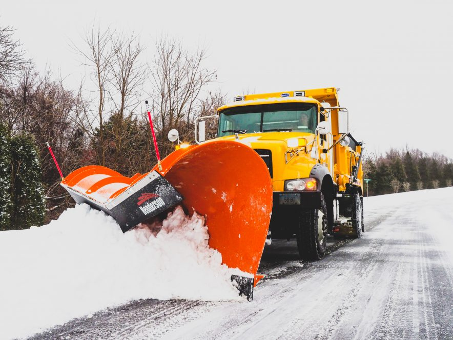 City of Bristol Public Works Plow Truck