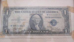 First Dollar Bill Earned