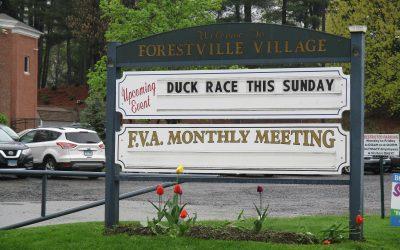 Forestville Village Association Sign