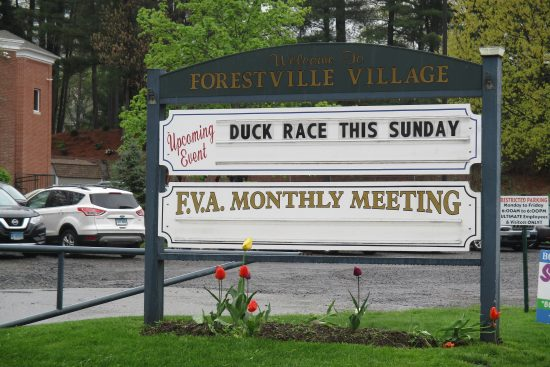 Forestville Village Association Sign