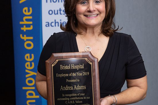 Andrea Adams Bristol Hospital Empolyee of the Year for 2019