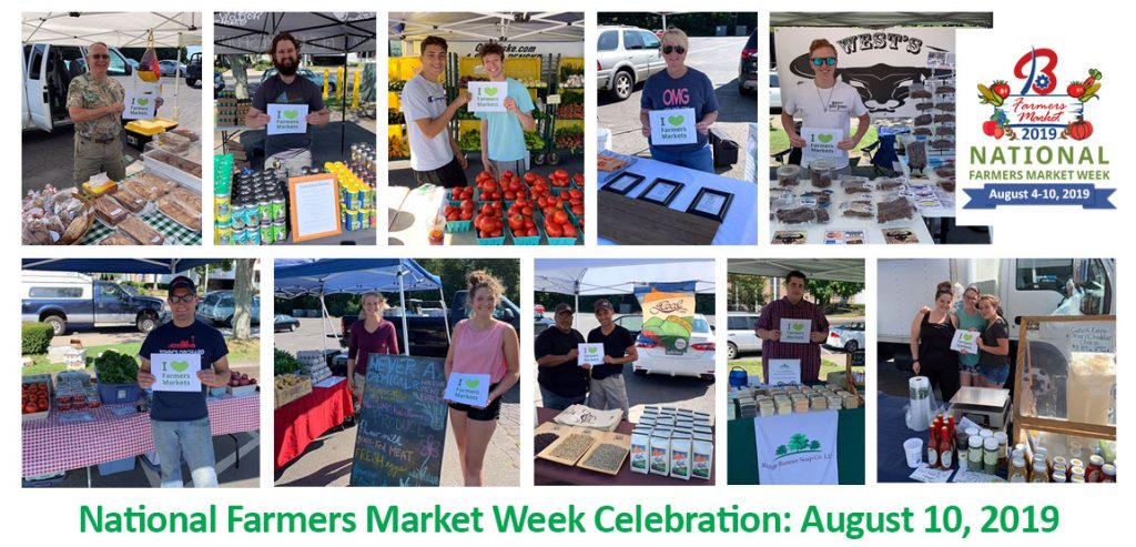 National Farmers Market Week Photo Collage