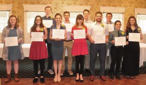 Bristol Rotary Club 2018 Scholarship Recipients