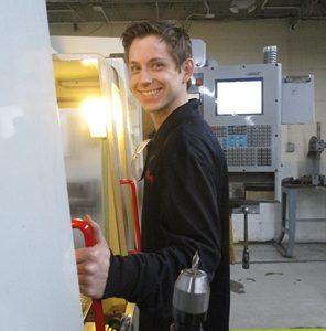 Tyler Roalf smiling