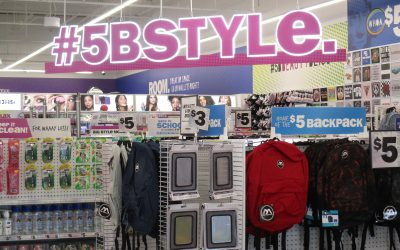 Photo of inside of Five Below store