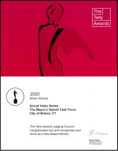 The Telly Awards Certificate