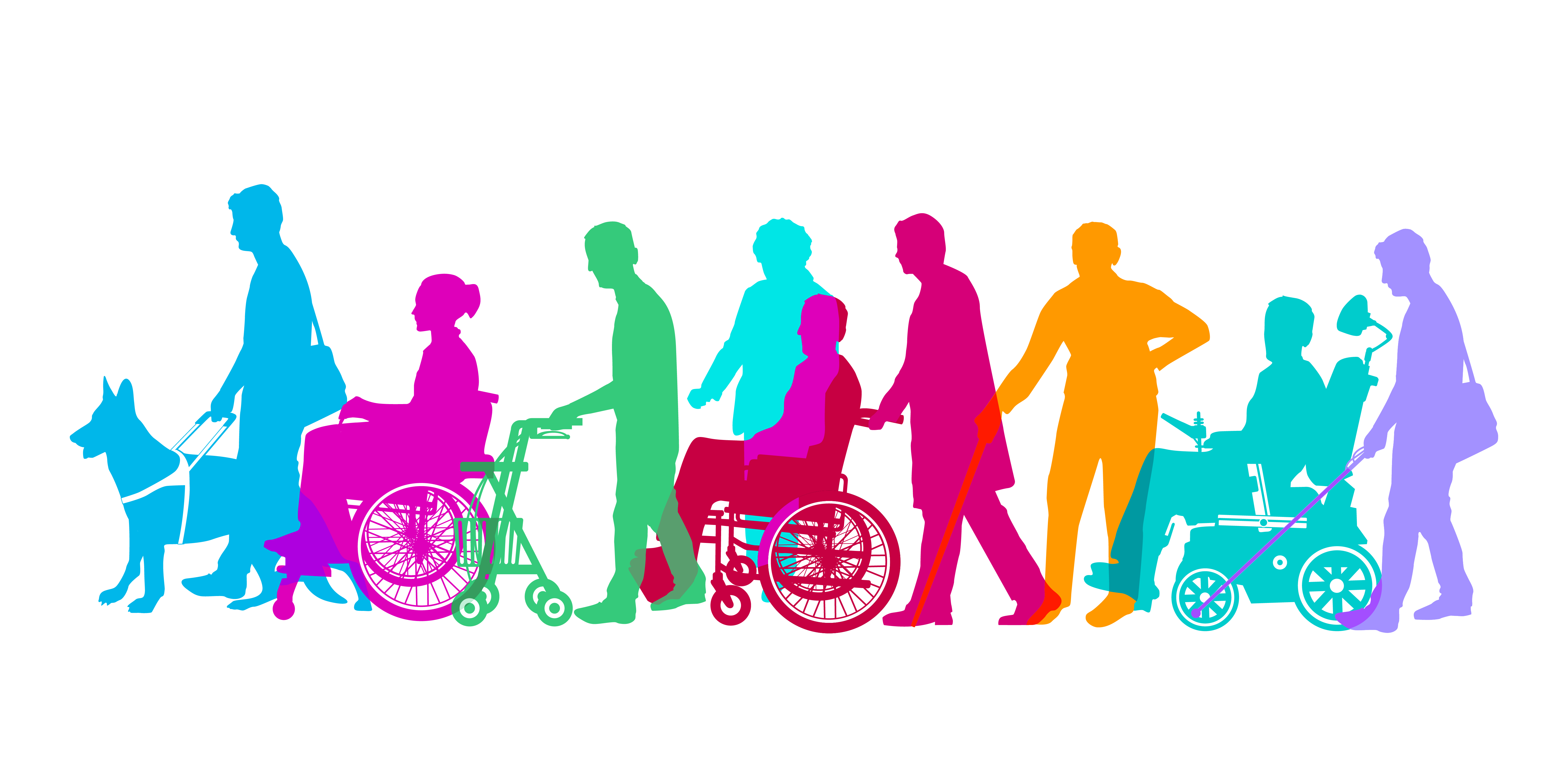 graphic of persons with disabilities