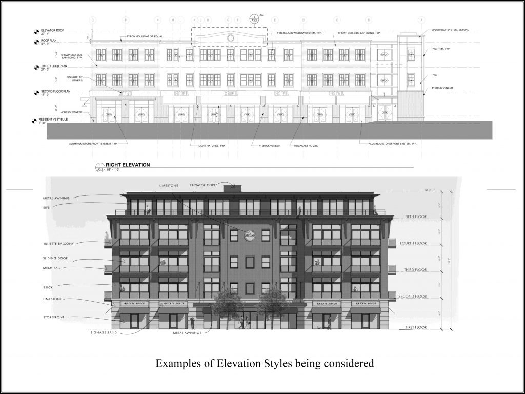 By Carrier proposed building rendering for Centre Square development project