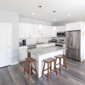Residences On Main photo of kitchen, style 1