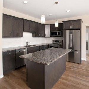 Residences On Main photo of kitchen, style 2