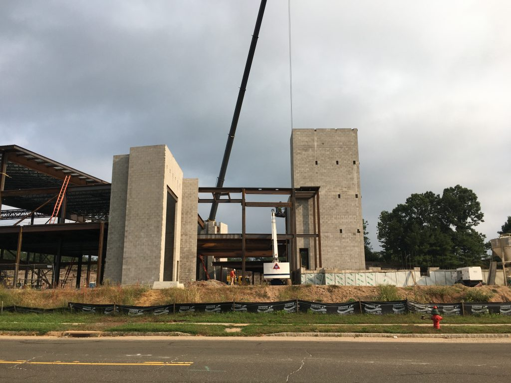 DoubleTree by Hilton Hotel construction photo on September 15, 2021